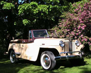 Barry Evans - 1948 Willys Jeepster