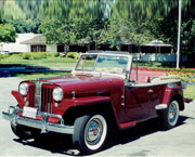 Jim Rogers - 1949 Willys Jeepster