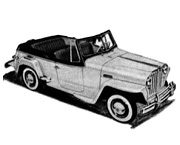 Illustration - Willys Jeepster