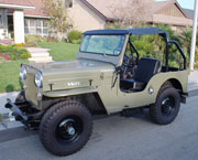 About Willys Vehicles - CJ-3B Universal