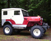 Russell Bettes - 1957 Willys CJ-3B