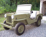 Thomas Carignan - 1958 Willys CJ-3B