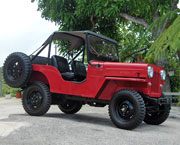 Alex Diaz - 1959 Willys CJ-3B