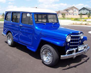 Kyle Timberlake - 1950 Willys Station Wagon
