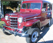 George Franks - 1953 Willys Station Wagon