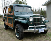 Pete Jansen - 1954 Willys Station Wagon
