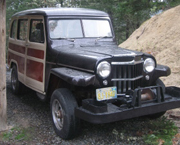 Brian Hancock - 1958 Willys Station Wagon