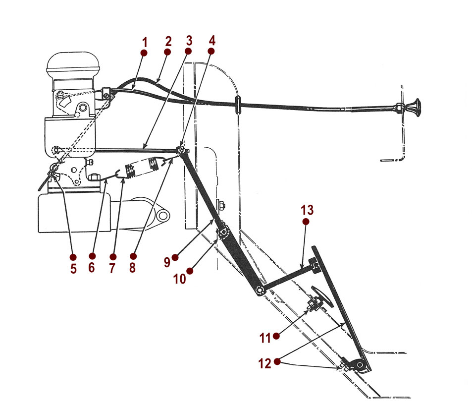 accelerator and controls 41 45 gpw 714 Engine Manual item has been added to your cart
