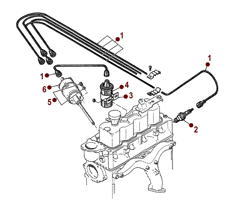 ignition system - willys m38a1 12 volt