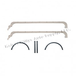 Oil Pan Gasket Set with Rope Rear Main Seal Kit  Fits  54-64 Truck, Station Wagon with 6-226 engine
