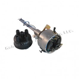 Complete Solid State Electronic Ignition Distributor 12 volt  Fits  41-71 Jeep & Willys with 4-134 engine