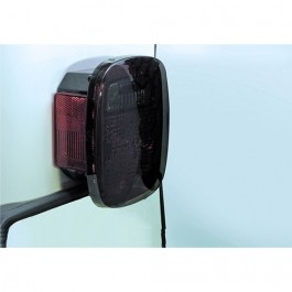 Tail Light Black-Outs in Smoke  Fits  76-86 CJ