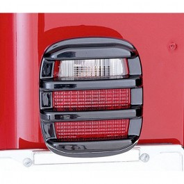 Tail Light Guards in Smoke  Fits  76-86 CJ
