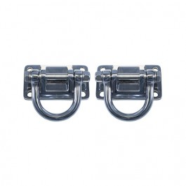 XHD D-Rings in Stainless Steel  Fits  76-86 CJ