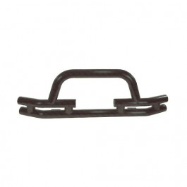 Front Tube Bumper with Winch Cutout in Titanium  Fits  76-86 CJ