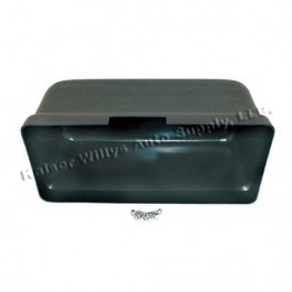 Plastic Glove Box Standard Size Replacement  Fits  67-71 Jeepster