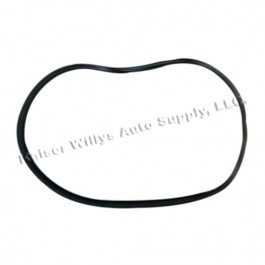 Side Panel Glass Rubber Weatherseal for Passenger Side  Fits  67-72 Jeepster (with hardtop)