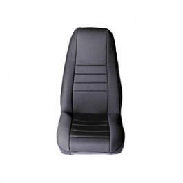 Neoprene Front Seat Covers in Black  Fits  76-86 CJ