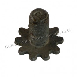 Emergency Brake Shoe Adjusting Screw (RH thread)  Fits  41-66 MB, GPW, CJ-2A, 3A, 3B, 5, M38, M38A1