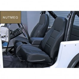 High-Back Front Seat, Non-Recline in Nutmeg  Fits  76-86 CJ