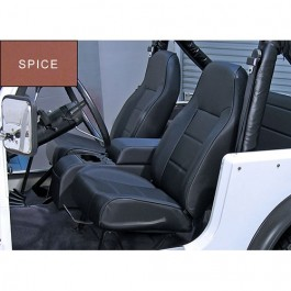 High-Back Front Seat, Non-Recline in Spice  Fits  76-86 CJ
