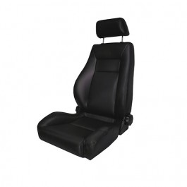 Ultra Front Reclinable Seat in Black  Fits  76-86 CJ