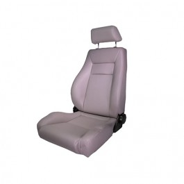 Ultra Front Reclinable Seat in Gray  Fits  76-86 CJ
