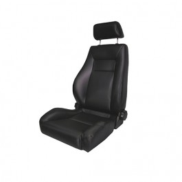 Ultra Front Reclinable Seat in Black Denim  Fits  76-86 CJ