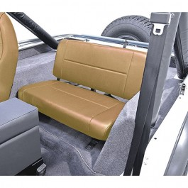 Standard Rear Seat in Tan  Fits  76-86 CJ