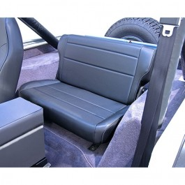 Fold and Tumble Rear Seat in Black  Fits  76-86 CJ