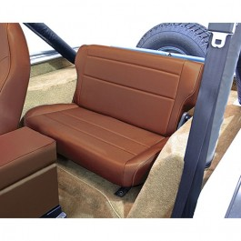 Fold and Tumble Rear Seat in Spice  Fits  76-86 CJ