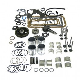 Complete Engine Overhaul Kit  Fits  46-53 Jeep & Willys with 4-134 L engine