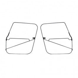 Soft Top Full Door Frames     Fits 76-86 CJ-7