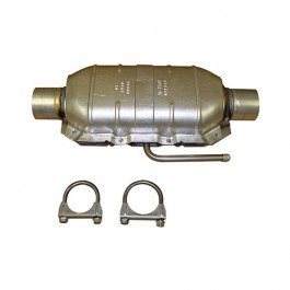 Catalytic Converter Kit with Hardware  Fits  76-78 CJ