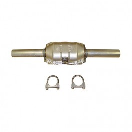 Catalytic Converter Kit with Hardware  Fits  84-86 CJ with 2.5L 4 Cylinder