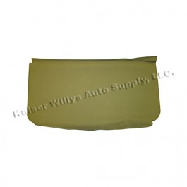 Seat Cover & Cushion for Rear Seat Frame Bottom Fits 50-71 M38, M38A1