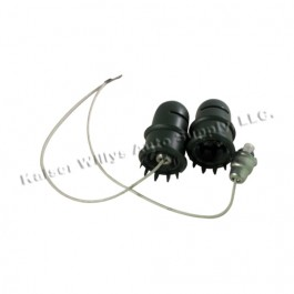 Dash Light Assembly (pair)  Fits  41-45 MB, GPW