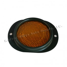 Amber Side Marker Assembly (reflector)  Fits : 41-71 Jeep & Willys