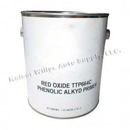 Red Oxid Primer Paint (Gallon) Fits 41-71 Jeep & Willys