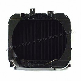 Radiator Assembly with Fan Shroud - Made in the USA  Fits  41-52 MB, GPW, CJ-2A, M38