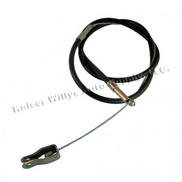 Emergency Front Hand Brake Cable  Fits  46-55 Station Wagon with Planar Suspension (2wd)