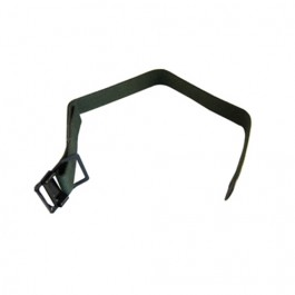 US Made Windshield Hold Down Strap (attaches to front of grille)  Fits  41-64 MB, GPW, CJ-2A, 3A, 3B, M38