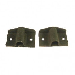 Made in USA Lower Door Pivot Bracket Hinge (pair) Fits  41-71 MB, GPW, CJ-2A, 3A, 3B, 5, M38, M38A1
