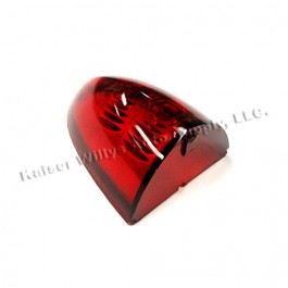 New Red Tail Light Lens Fits  52-53 Aero