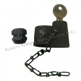 Spare Tire Carrier Lock Fits : 41-71 Jeep & Willys