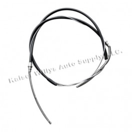 Emergency Rear Hand Brake Cable  Fits  46-51 Jeepster, Station Wagon with Planar Suspension