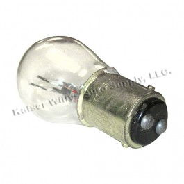 Front Parking & Turn Signal Bulb (12 volt - Dual Filament) Fits  53-71 Jeep & Willys