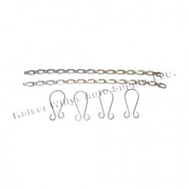 Top Bow Thumbscrew Wire & Chain Set Fits  41-64 MB, GPW, M38, M38A1