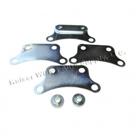 Horn Vibration Bracket Fits : 41-71 Jeep & Willys