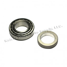Axle Shaft Bearing and Cup with Retainer, Fits  86 CJ with Rear Dana 44